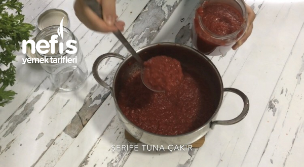 Domates Kabuğundan Salça Yapımı (Videolu)