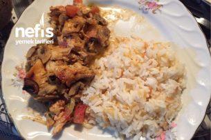 Kremalı Mantar Tavuk Fırında Tarifi