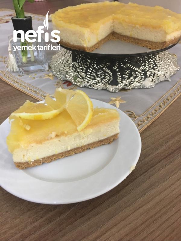Limonlu Enfes Tat Cheesecake