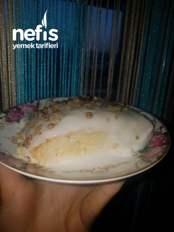 Muazzam Bol Muhallebili Gelin Pastası