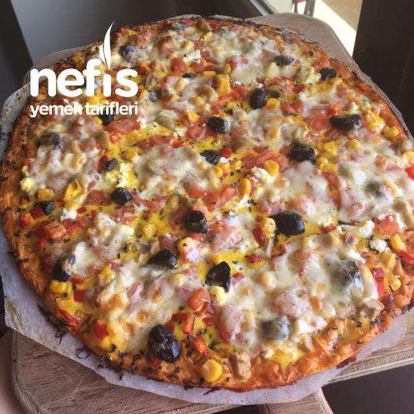 Yufka Ekmeğinden Pizza