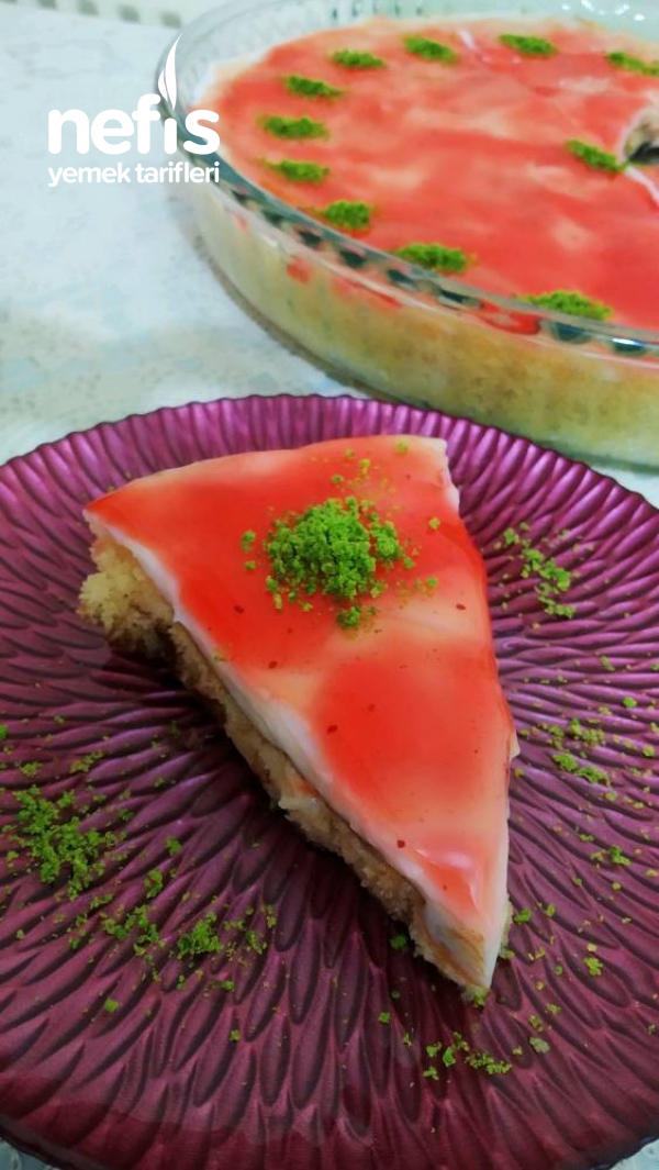 Orman Meyveli Yaz Pastası