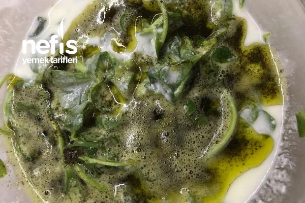 Yoğurtlu Semizotu Salatası (Nane Soslu) Tarifi