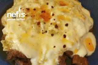 Etli Yoğurtlu Köz Patlıcan Tarifi