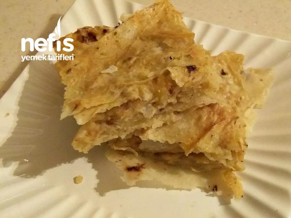 Sodalı Patatesli Börek Çıtır Çıtır (Köy Yufkasından Yufka Ekmekten)