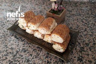 Yapımı Kolay Şipşak Peynirli Poğaça Tarifi