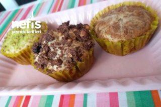 3 Süslemeli Muffin Tarifi