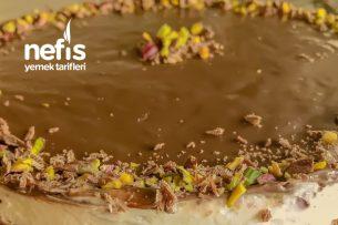 Bol Çikolatalı Cheesecake Çikolataya Doyacaksınız !!!(Pişmeyen) Tarifi