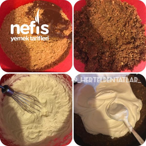 Bol Çikolatalı Cheesecake Çikolataya Doyacaksınız !!!(Pişmeyen)