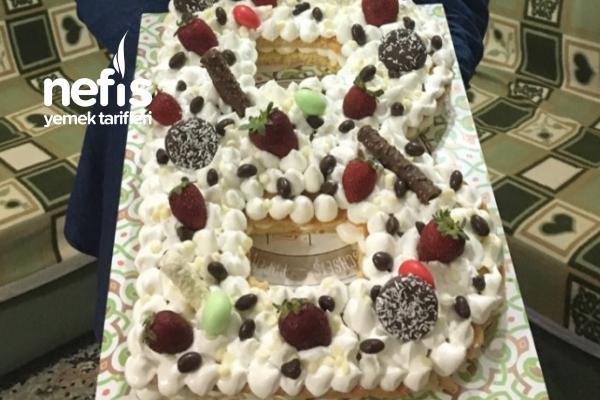 Harfli Yaş Pasta Tarifi