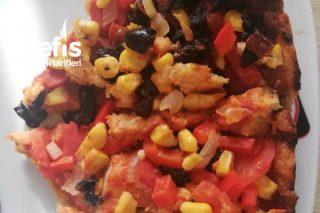 Az Malzemeli Pizza Tarifi