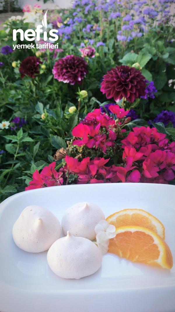 Portakallı Beze(meringue)