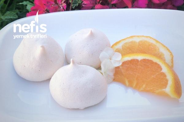 Portakallı Beze (Meringue) Tarifi