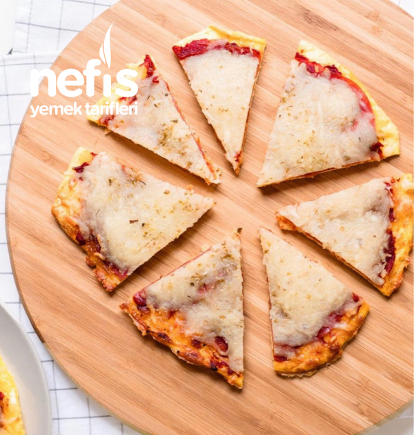 Salamlı Keto Pizza(unsuz)