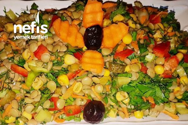 Sosyete Salatası (Videolu) Tarifi
