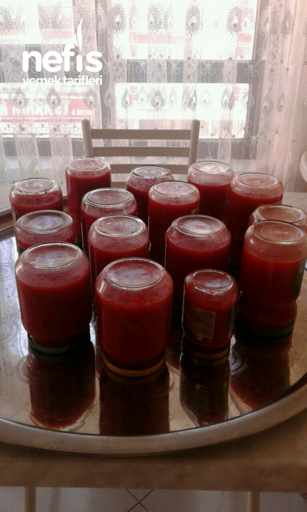 Kışlık Kırmızı Biberli Domates Sos