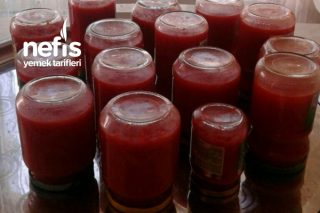 Kışlık Kırmızı Biberli Domates Sos Tarifi