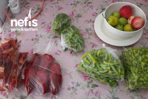 Dondurucuda Kırmızı Ve Yeşil Biber Tarifi