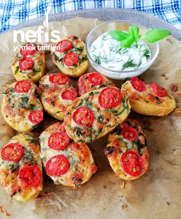 Firinda Soslu & Kaşarlı Patates