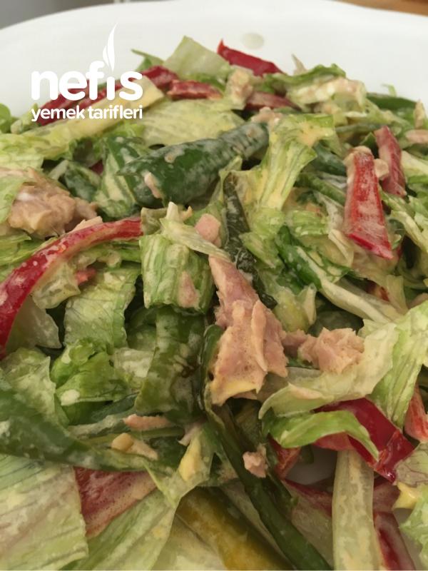 Ton Balıklı Sezar Salata