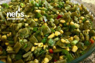 Yeşil Fasülye Salatası Tarifi