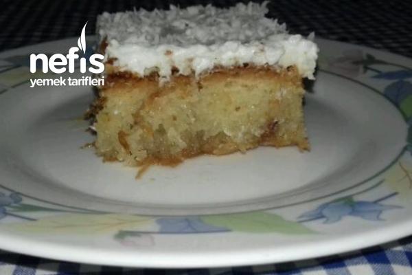 Kadayıflı Kek Tatlısı ( bilğiniz tüm tarifleri unutun )