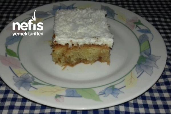 Kadayıflı Kek Tatlısı (Bildiğiniz Tüm Tarifleri Unutun) Tarifi