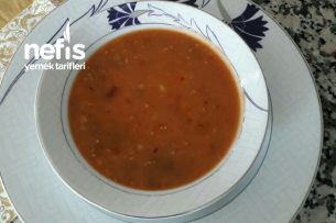 Kara Şimşek (Merhuta) Çorbası Tarifi