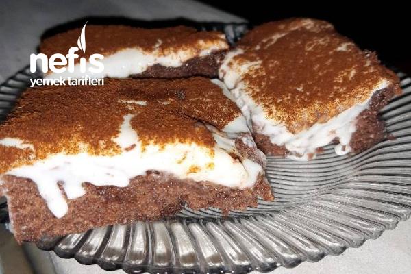 Kremalı Yumuşacık Kek Tarifi