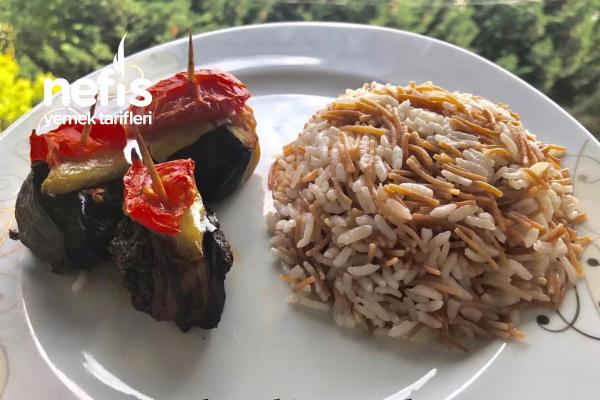 Kürdan Kebabı Ve Şehriyeli Pirinç Pilavı (Videolu) Tarifi