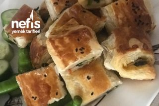 10 Dakikada Hazır Ispanaklı Acil Misafir Böreği Tarifi