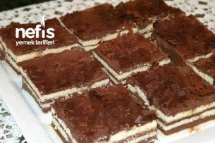 Az Malzemeli Pratik Mozaik Pasta Tarifi