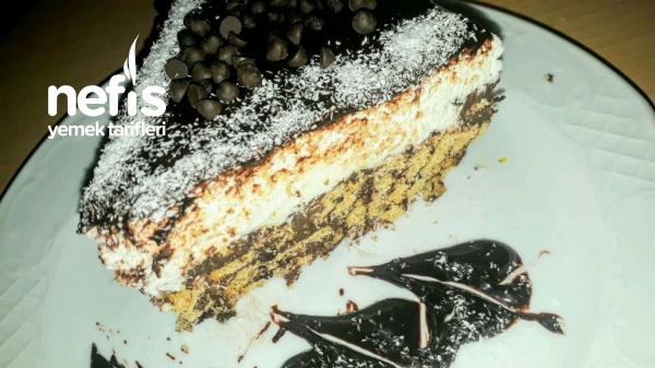 Büsküvili Cocostar Pasta (Mozaik Pasta Dan Esinlendim)