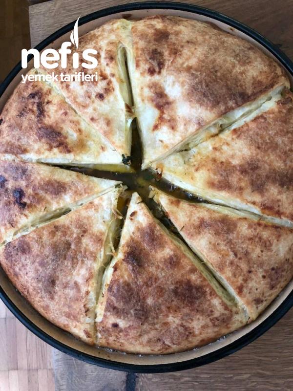 Dürüm Ekmeğinden Harika Patatesli Börek