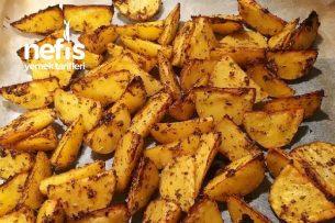 Elma Dilim Enfes Fırın Patates Tarifi