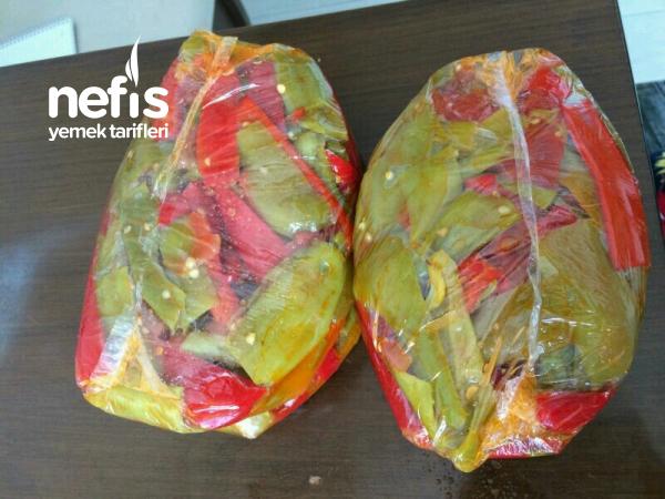 Kışlık Patlıcan Ve Biber