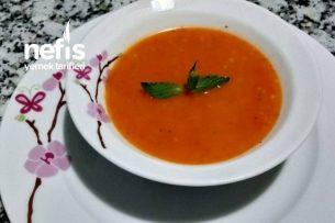 Takübi Çorbası (Köz Biberli Şehriyeli Tarhana) Tarifi