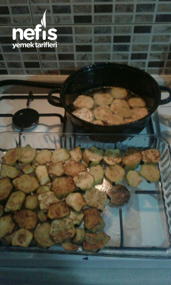 Misket Köfteli Patlıcan Oturtma