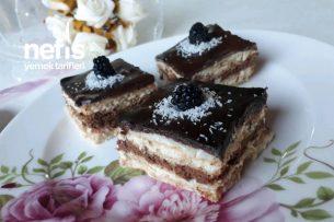 Yapması Kolay Lezzeti Olay Bisküvili Pasta Tarifi