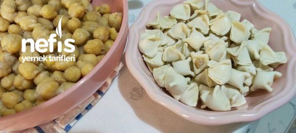 Domatesli Mantı Çorbası  Yaz Çorbası