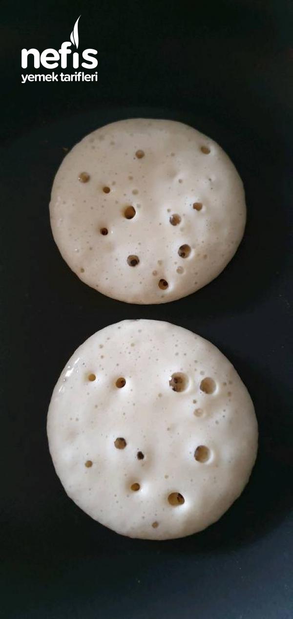 Duble Pofidik Pancake (Akşamdan Hazırla, Sabah Pişir)