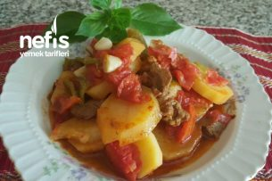 Etli Patates Tava ( Adana Usulü Tencere Yemeği) Tarifi