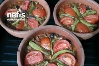 Güveçte Patlıcan Tarifi