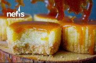 Karamelli Mini Cheesecake Tarifi