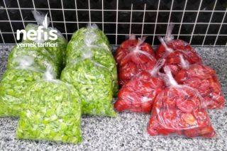 Kışlık Menemenlik Biber ve domates Tarifi