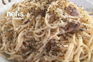 Kremalı Tavuklu Spagetti Tarifi