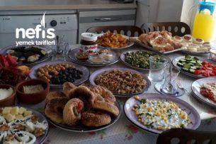 Nefis Kahvaltı Menüsü Tarifi