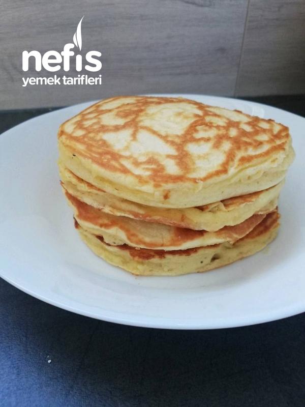 Muzlu Pancakes (Puf Puf)