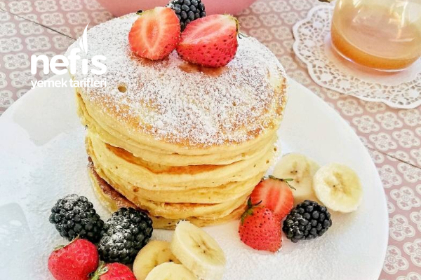 Muzlu Pancakes (Puf Puf) Tarifi