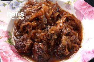 Soğan Bastı (Sirkeli Soğanlı Tavşan Yemeği) Kıbrıs Mutfağı Tarifi